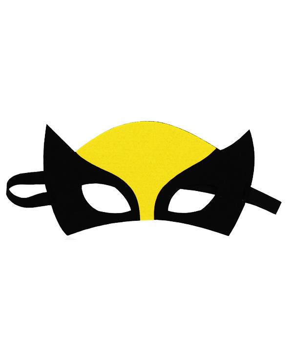 """Детская маска супергероя """"Росомаха"""""""
