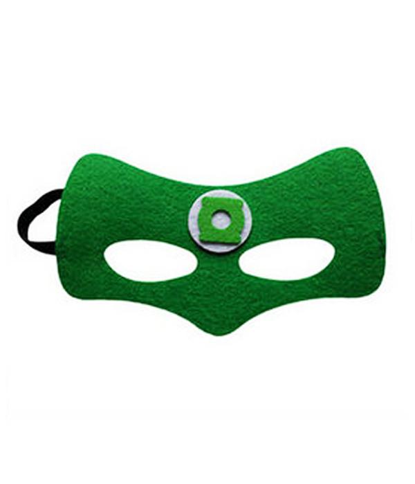 """Детская маска супергероя """"Зеленый фонарь"""""""