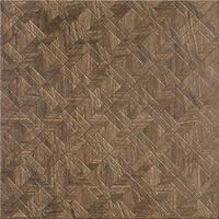 Декор Cersanit Егзор 42x42 коричневый