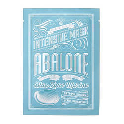 Зволожуюча тканинна маска BLITHE Blue Zone Marine Intensive Mask Abalone 25мл
