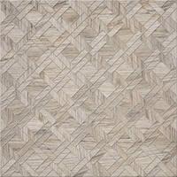 Декор Cersanit Егзор 42x42 серый