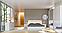 Кровать двуспальная с мягким изголовьем из ДСП Фемели (без каркаса и матраса) MiroMark, фото 3