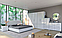 Кровать двуспальная с мягким изголовьем из ДСП Фемели (без каркаса и матраса) MiroMark, фото 6