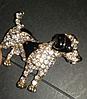 Брошка брошка значок джек рассел тер'єр, пес собака метал емаль значок пін, фото 4
