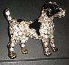Брошка брошка значок джек рассел тер'єр, пес собака метал емаль значок пін, фото 5