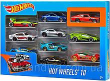 Набор  Hot Wheels 10 машинок ассортимент