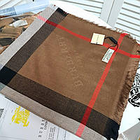 Женский брендовый платок Burberry кашемир (реплика) LUX+++