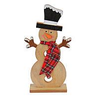 Новогодний декор Снеговик большой SKL11-208802