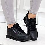 Удобные молодежные черные женские кроссовки на каждый день, фото 10