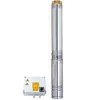 Відцентровий Насос свердловинний 380В 5.5 кВт H 163(90)м Q 270(200)л/хв Ø102мм AQUATICA (DONGYIN) (7771773)