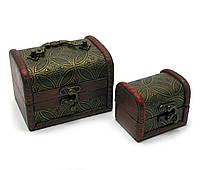 Сундучки декоративные деревянные