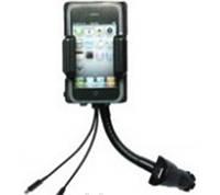 Подставка с адаптером для моб. телефона iPhohe с адаптером от прикуривателя