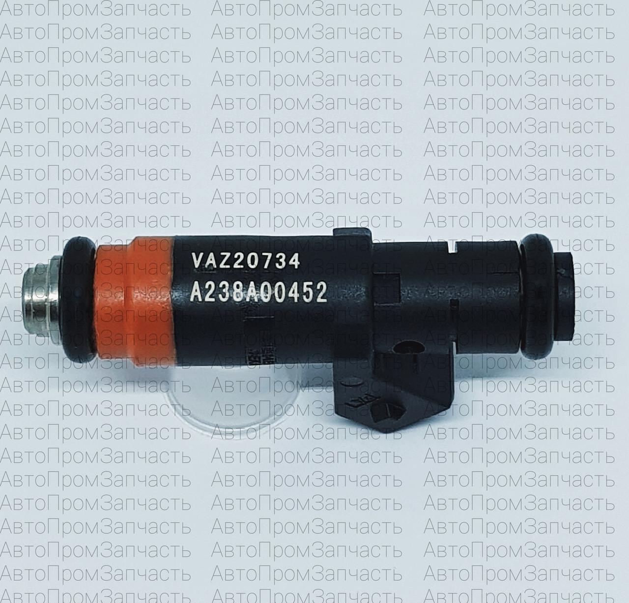 Форсунка топливная ВАЗ 2110, 2111, 2112 (1,5-8 кл. тонкий) Siemens VAZ 20734