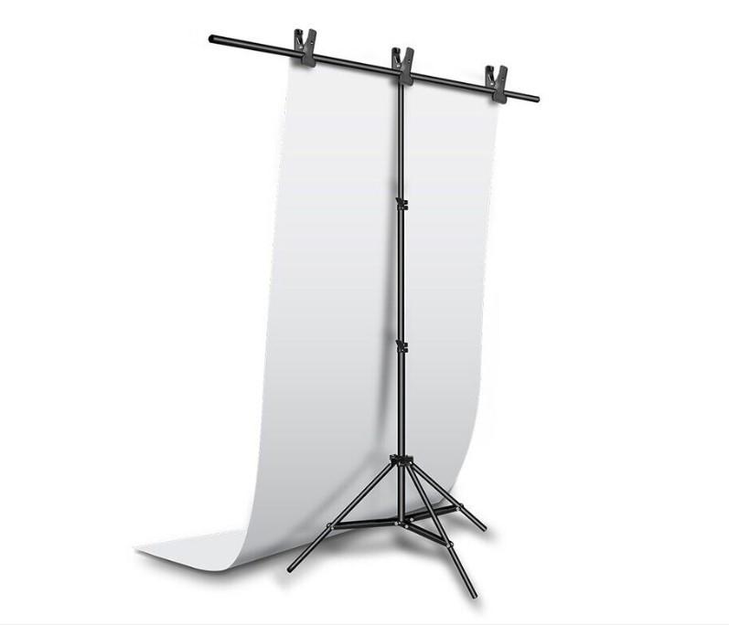 Фотофон, фон для фото предметной съемки Белый 100×200 см ПВХ (Матовый) (Без стойки)