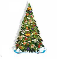 Декорація ☆ Новорічна Ялинка із Сніговиками ☆ Новий Рік
