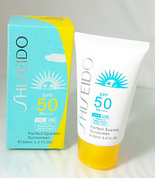 Солнцезащитный крем Shiseido Perfect Sparkle Sunscreen SPF 50 PA +++ MUS 67 /5-1