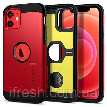 "Чехол Spigen для iPhone 12 / iPhone 12 Pro (6.1"") - Tough Armor, RED (ACS02253)"