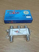 4 Way Splitter CosmoSat (сплиттер ТВ диапазон на 4 абонента)