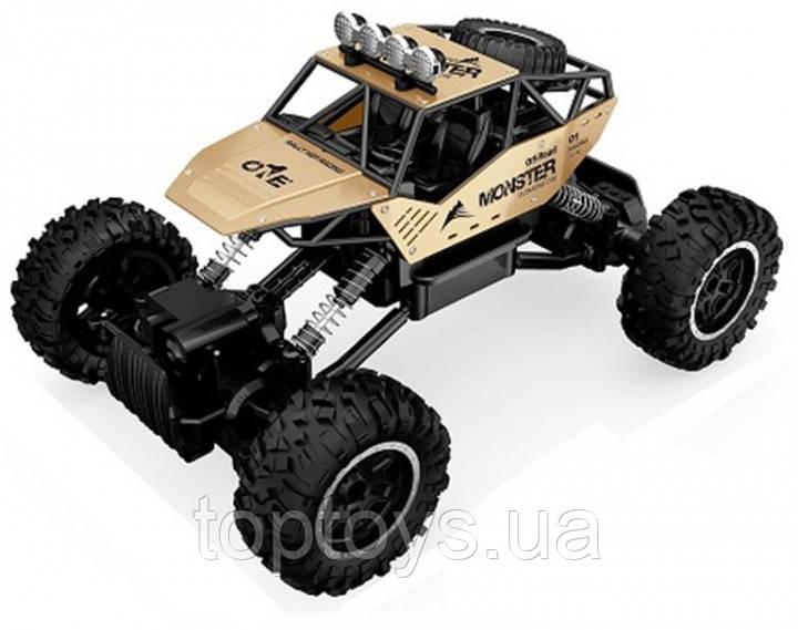 Автомобіль на р/к Sulong Toys 1:14 Off-Road Crawler Force Металевий Золотий (SL-122G)