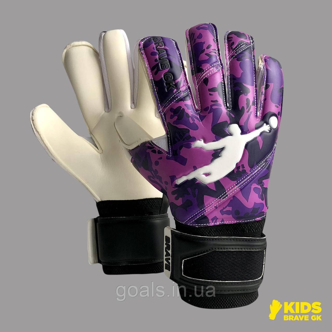 Перчатки вратарские BRAVE GK REFLEX CAMO PURPLE