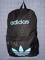 Рюкзак Adidas 15 л 013563 черный с голубым спортивный школьный