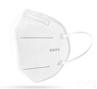 Распиратор маска пятислойная многоразовая KN95 (FFP2), белая