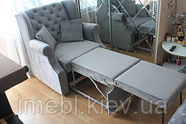 Раскладное мягкое кресло (Серое)