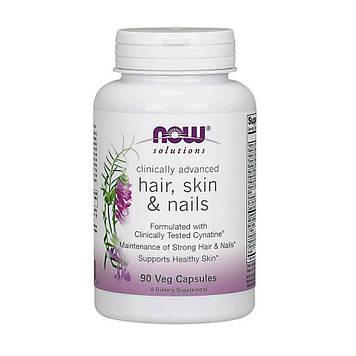Комплекс витамин для волос, кожи и ногтей Now Foods Hair, Skin & Nails 90 veg caps
