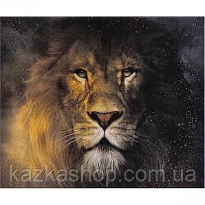 """Алмазная живопись """"Лев"""", мозаика по номерам размер 30*40см Китай"""