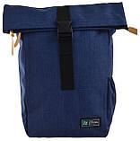 Рюкзак міський Smart Roll-top T-70 14 л Ink Blue, фото 2