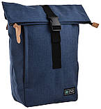 Рюкзак міський Smart Roll-top T-70 14 л Ink Blue, фото 5
