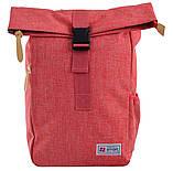 Рюкзак міський Smart Roll-top T-70 14 л Coral, фото 2