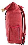Рюкзак міський Smart Roll-top T-70 14 л Coral, фото 4