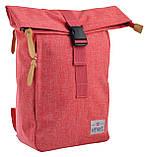 Рюкзак міський Smart Roll-top T-70 14 л Coral, фото 5