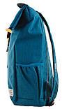 Рюкзак міський Smart Roll-top T-70 Tube Turquoise 14 л Бірюзовий, фото 3