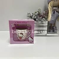 Детская керамическая чашка Hello Kitty в подарочной упаковке