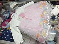 Платье детское нарядное Турция р.62 -74см