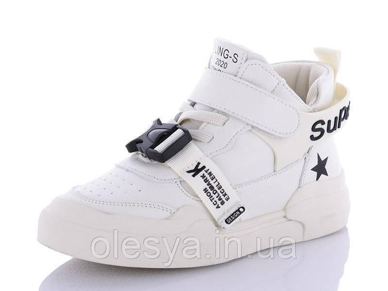 Демисезонные ботинки, высокие кроссовки, хайтопы для девочек ТМ Lilin-Shoes A2070-6 Размеры 31- 36