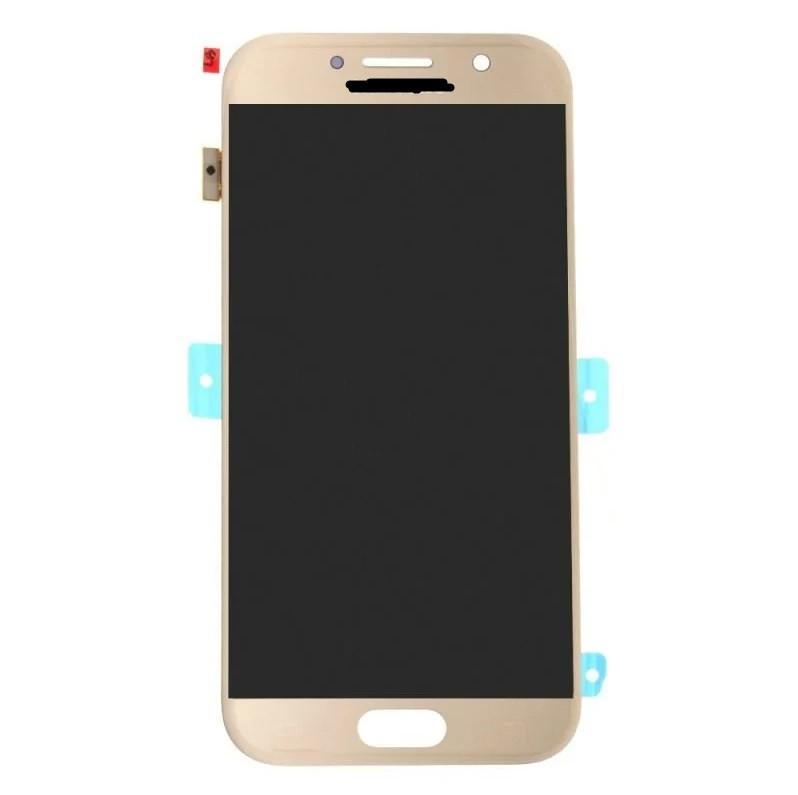 Дисплей Samsung A520 Galaxy A5 (2017) TFT регулируемая подсветка + сенсор золотой