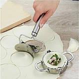 Пресс и форма для лепки вареников и пельменей, фото 5