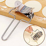 Пресс и форма для лепки вареников и пельменей, фото 6