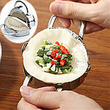 Пресс и форма для лепки вареников и пельменей, фото 3