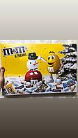Огромный адвент календарь M&M s конфеты, шоколад, батончики, печенье