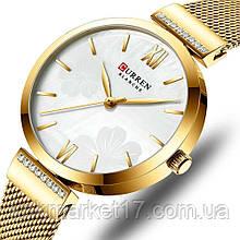 Curren 9067 Gold-White