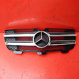 Решітка радіатора Mercedes GL X164 Решітка 2006-2012 рр ШРОТ, фото 3