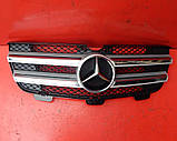Решітка радіатора Mercedes GL X164 Решітка 2006-2012 рр ШРОТ, фото 5