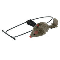 Trixie (Трикси) Игрушка для кошек мышь с креплением на дверной проем 8см*190см