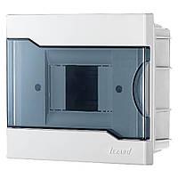 Щит под автоматы 4 модуля Lezard, внутренний, бокс монтажный, шкаф для автоматов распределительный