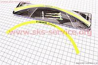 Наклейка светоотражающая на 2 диска колеса 12 на скутер Race Viper