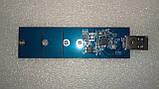 USB 3.0 USB 2.0 переходник адаптер для M.2 SSD с интерфейсом подключения sata, фото 7